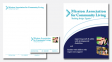 letterhead, business card, presentation folder - MACL